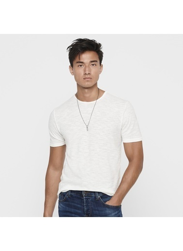 Only & Sons Tişört Beyaz